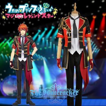 Custom-made New Anime UTA NO PRINCE SAMA S4 Ittoki Otoya Cosplay Costume Full Set XS-XXL For Halloween Carnival Free Shipping