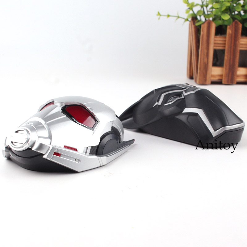 Original Marvel Toys Avengers Civil War Ant-Man Ant Man Black Panther Bluetooth Wireless Mouse Mouse Gaming LED Compuer Mouse