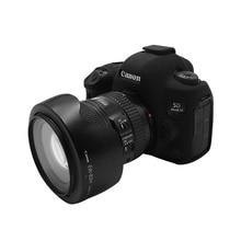 Saco do corpo da câmera para canon 5d mark iv dslr fechar caso capa protetora de silicone de alta qualidade
