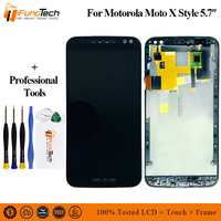 For Motorola Moto X Pure Edition/X style Xt1575 Xt1572 Xt1570 Lcd Display Screen+Touch Glass Digitizer Assembly Replacement
