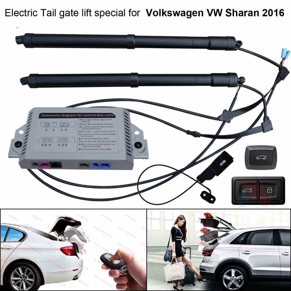 car accessories Car Electric Tail gate lift special for Volkswagen VW Sharan  2016 Easily for You to Control Trunk -in Trunk Lids & Parts from  Automobiles ...