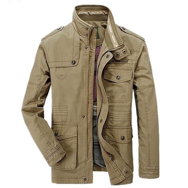 Men S Good Quality Spring Autumn Jackets Men S Cotton