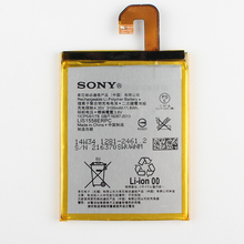 Оригинальный Sony LIS1558ERPC Батарея для Sony Xperia Z3 L55T L55U D6653 D6603 D6633 D5803 D5833 D6616 D6708 3100 мАч
