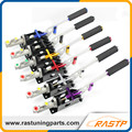 "RASTP - Colorful Adjustable Drift Hydraulic E-Brake Racing HandBrake Lever Grip with 0.75""Master Cylinder  LS-HB001"