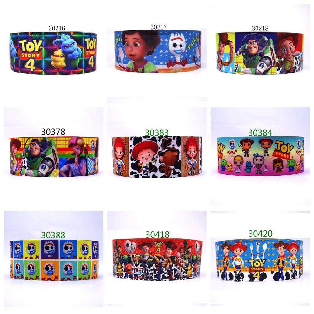 Free Shipping 2019 New Arrival Ribbons Hair Accessories Ribbon 10 Yards  Printed Grosgrain Ribbons 30388