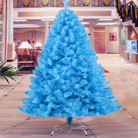 Christmas New Year factory outlets 1.8 m / 180CM sky blue Christmas family Christmas tree decoration Christmas gift