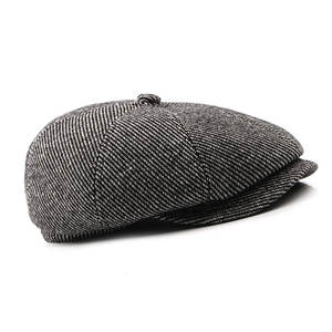 975345dee0c picemice Hats For 2018 Men Winter Wool Beret Hat Flat Cap