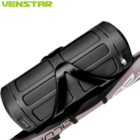 VENSTAR S400 16W Wireless Bluetooth Speaker Portable Column for Outdoor Sport with Remote Panel, Bike Mount, Power Bank Function