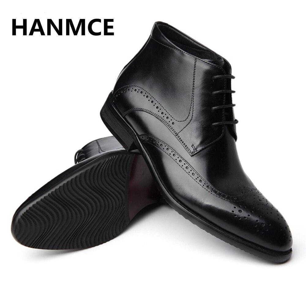 2018 De Haute Cuir Véritable Cheville En Laçage Black Mode Pointu Chaussures Nouveau Qualité Hommes wine Bottes xBhQtrCsdo