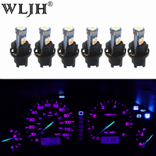 WLJH 6x PC74 T5 LED אור מנורת רכב מכשיר לוח אור לוח מחוונים נורות עבור הונדה אקורד CR V סיוויק אודיסיאה פרלוד CRX S2000