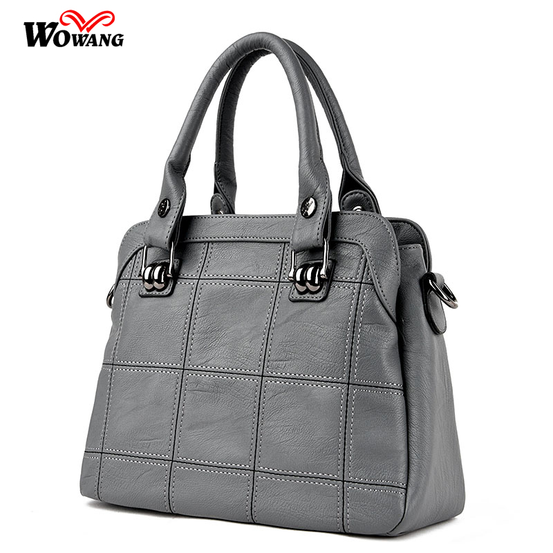 New Women Leather bag Handbags High Quality Women Messenger Bag Casual Shoulder Bags Women Tote Bag Clutch Ladies Bolsos Mujer new fashion women handbag women leather shoulder bag patchwork handbags brown plaid messenger bag tote bags bolsos mujer free