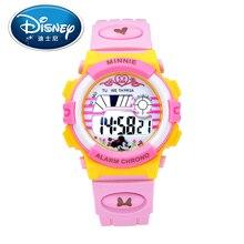 2017 Disney Kids Reloj Niños Reloj Fresco de La Moda de Cuarzo relojes de Pulsera Digitales Niñas reloj Deportivo Resistente Al Agua