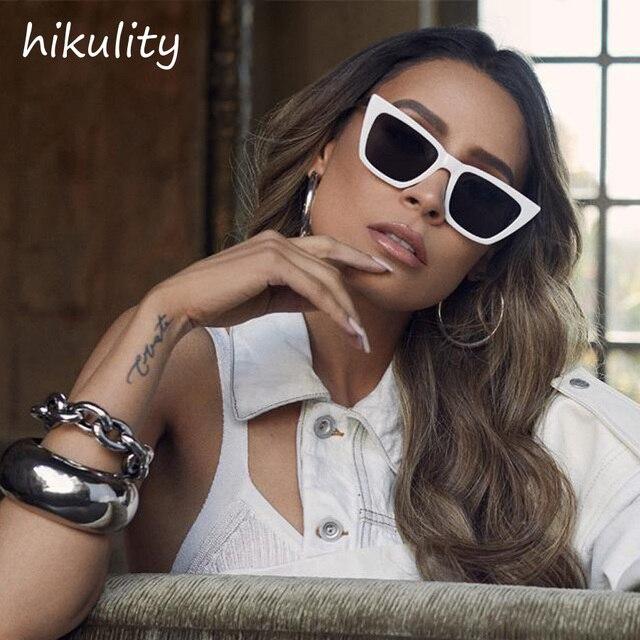 Vintage Retro Sunglasses Ladies Narrow White In 19 Shades Style Sun 87031 Luxury Brand Australia Black Us3 20Off Women Small Female Glasses drCxBeo