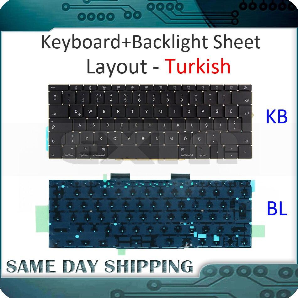 New for MacBook Pro Retina 13.3 A1708 TR Turkish Turkey Keyboard with Backlight /Backlit Replacement 2016 2017 Year 2mp poe ip camera 1080p onvif 2 4 sony imx323 sensor indoor outdoor vandalproof 30m ir 2 8 12mm zoom lens cameras de seguranca