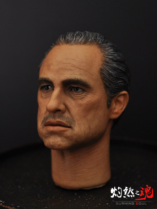 1/6 figure Accessory The Godfather headsculpt Marlon Brando head shape for 12 Action figure doll,Not included body and clothes куклы winx кукла winx club красотка layla