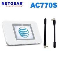 Разблокированный Netgear Aircard AC770S 4G LTE 450 Мбит/с мобильный доступ с wi-fi-роутера с антенной