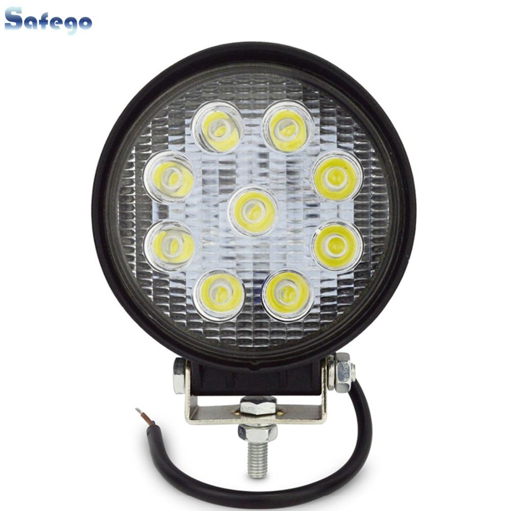 Safego 27W led munkalámpa 12 V LED Traktor munkalámpa terepen 4X4 - Autó világítás - Fénykép 1