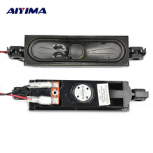 AIYIMA 2Pcs Audio Portable Speakers 8Ohm 10W LCD TV Speaker Altavoz Portatil Column DIY For TV Soundtrack