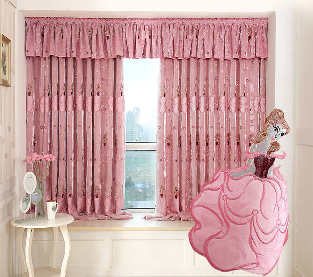 Online Shop New Arrival Curtains For Living Room Window Curtain Pink ...
