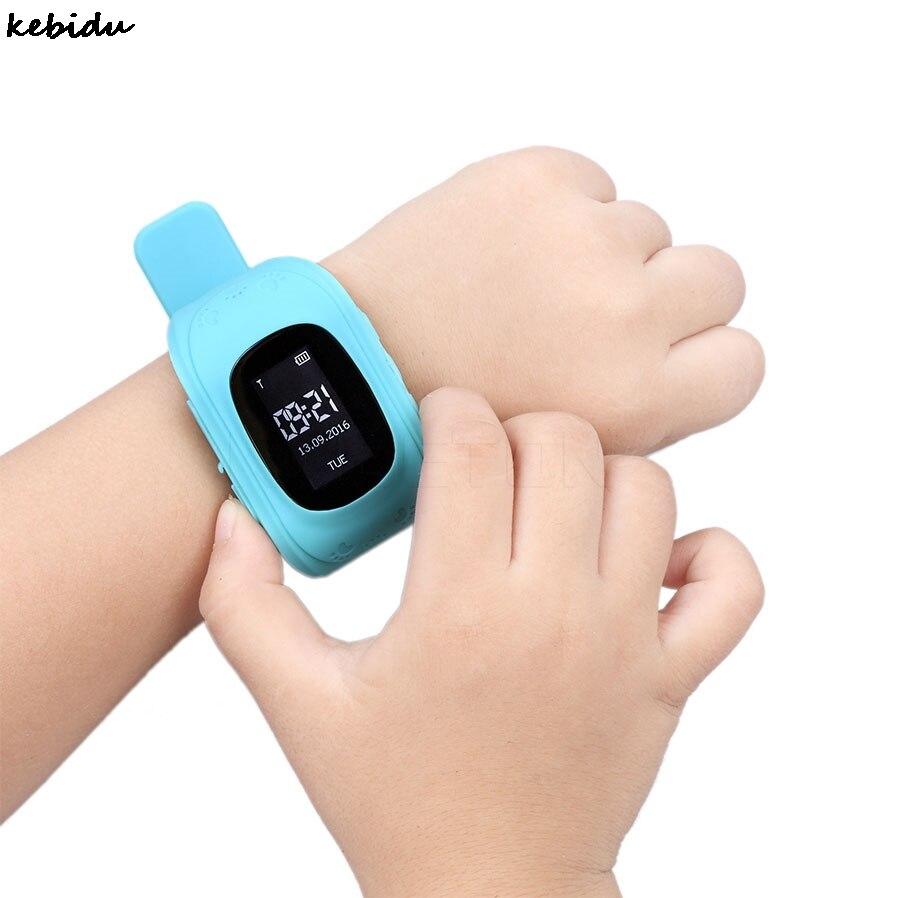 Kebidu Q50 Смарт часы для малыша безопасным GPS SOS вызова расположение Умные поисковики анти-потерянный трекер для малыша детский мониторы подарок для ребенка