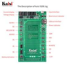 Kaisi Pin Điện Thoại Kích Hoạt Ban Tấm Sạc Cáp USB JIG Cho iPhone 4 8X Vivo Huawei Samsung Xiaomi Mạch thử Nghiệm