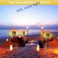 4pcs/lot update Solar 96LEDs Lawn Dancing flame Torch Lights radar 3 working mode 2018 New Solar Torch Light breathing lands
