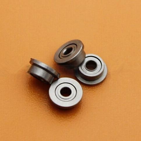100pcs/lot  Flanged bearing  F692ZZ  shielded miniature flange deep groove ball bearings 2*6*3 mm