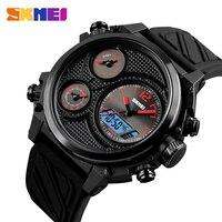2018 SKMEI Luxury Brand Men Sport Watch Men Analog Digital Wristwatches Waterproof 24 Hour Date Quartz