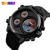 2018 SKMEI Luxury Brand Men Sport Watch Men Analog Digital Wristwatches Waterproof 24 Hour Date Quartz