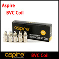 20 pc/lot Original Aspire ET-S BVC Bobinas para CE5 S K1 Clearomizer Aspire BVC COIL 1.6.1.8, 2.1ohm l Reemplazo bobinas (MM)