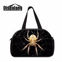 Dispalang с принтом паука травле вещевой мешок сумка дорожная сумка для мужчин большой емкости Туристические сумки на плечо кошельки для путеше...