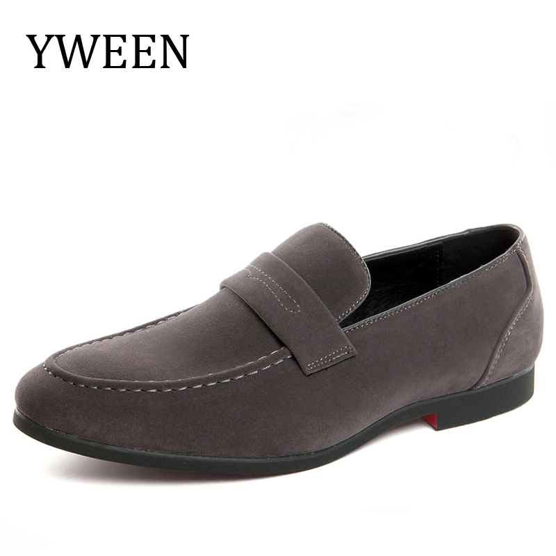 YWEEN Large size Casual Shoes For Men Loafers New Slip-On Breathable Light With Fashion Male Flats Shoes 2017 brand new men spring fashion breathable slip on shoes stretch fabric light shoes casual flats jogging loafers shoes wb 36