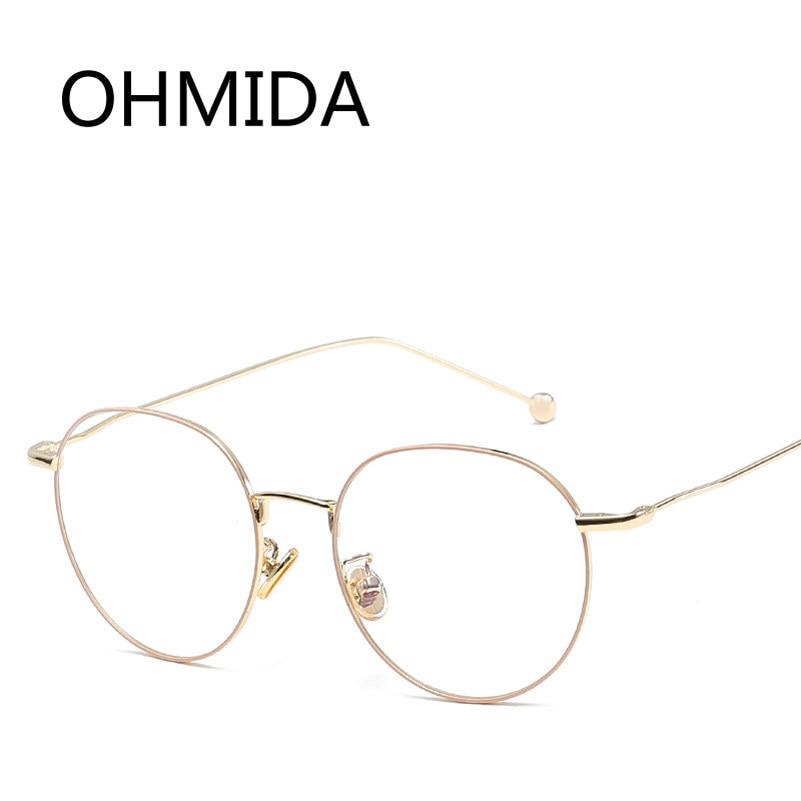 Online-Shop OHMIDA Neue Mode Brille Frauen Rahmen Klaren Gläsern ...