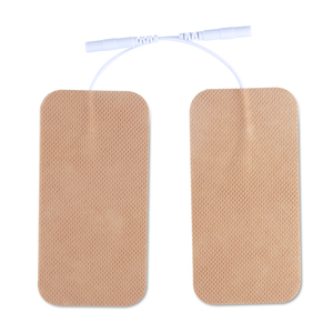 Image 1 - 10 Pairs TENS Electrodes Pads 5*10cm With Plug Hole 2.0mm For TENS/EMS Machines