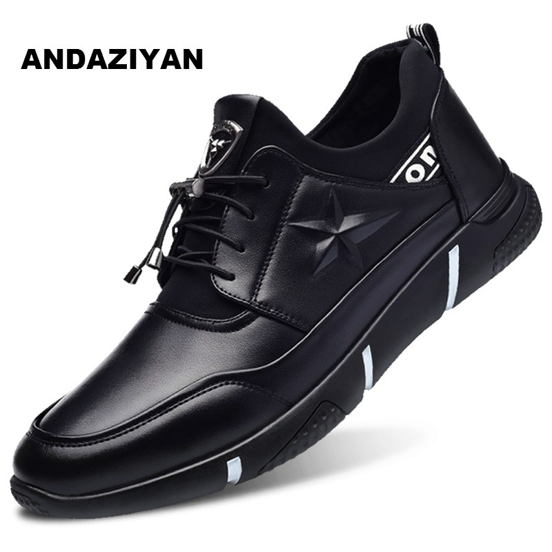De Negro Primavera Casuales Zapatos Los Transpirables Nuevos Hombres SAZ1Ewqx
