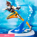 Anime game Tracer PVC Action Figure Collectible Model doll toy 23cm