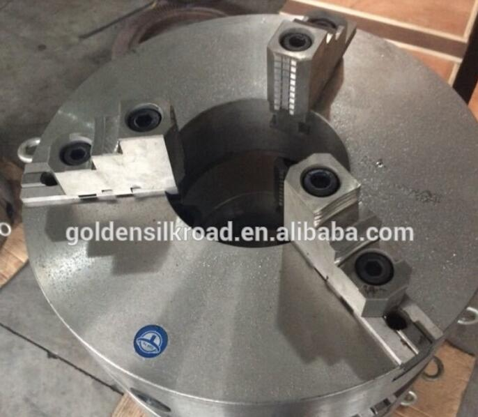 K11-315A lathe chucks 3 jaw self-centering chuck with through hole 100mm hole hole live through this