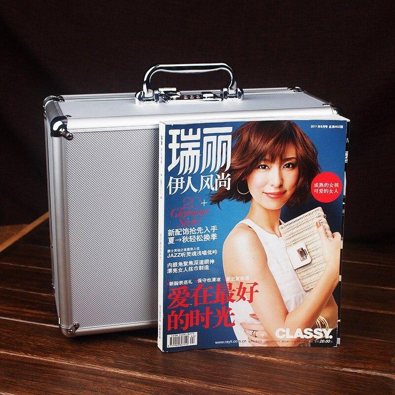 Acheter Caisse à Outils en aluminium valise boîte à outils boîte de mot de passe boîte de Fichier de sécurité résistant aux Chocs cas caméra matériel cas avec pré cut mousse de tool case fiable fournisseurs