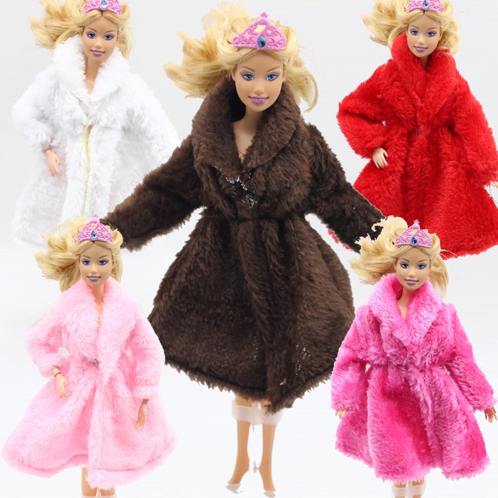 1pcs Fashion Plush Coat the Winter big coats clothes for ...