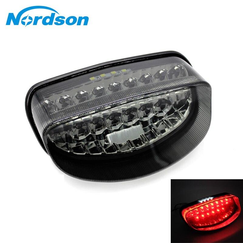 Nordson Motorrad rücklicht LED Rückleuchte Blinker licht Für Honda CBR1100XX HORNET 600
