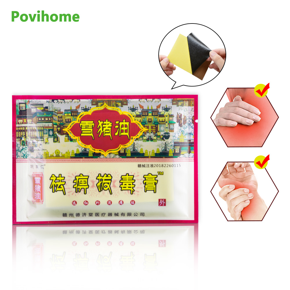 24Pcs 3Bags Medical Patch Treatment Body Rheumatoid Arthritis Pain Relief Knee Neck Back Orthopedic Plaster D1535 in Patches from Beauty Health