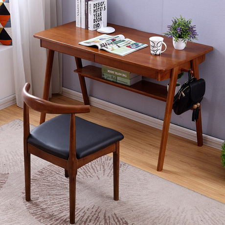 Remarkable Us 278 99 7 Off Computer Desks Office Home Furniture Solid Wood Laptop Table Study Table Escrivaninha Office Table Bureau Meuble New 120 60 75Cm In Download Free Architecture Designs Scobabritishbridgeorg
