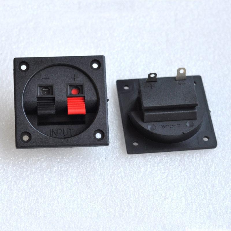 5 pcs 2-way Conector Assento Clipe Orador, Clip-on Assento Dois-assento Para Pequenas Orador Coluna