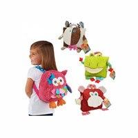 3D Animal Plush Backpack Cartoon School Shoulder Bag Kid SnackPlush Dolls Plush Education Baby Toys