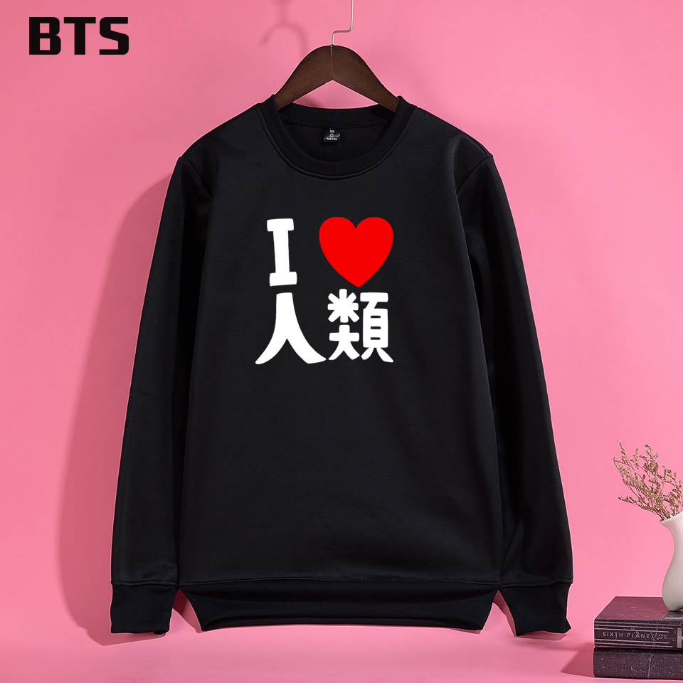 BTS No Game No Life Hoodies Mulheres High Quality Female Sweatshirt New Fashion Brand Women Hoodies Sweatshirts Long Sleeve