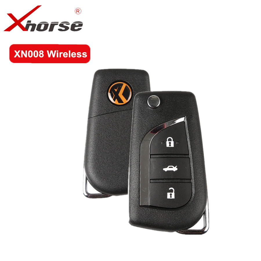 XHORSE Wireless Universal Remote Key 3 Buttons For Toyota XN008 Remote Key With NXP Chip For VVDI KEY TOOL And VVDI2 5PCS /lot