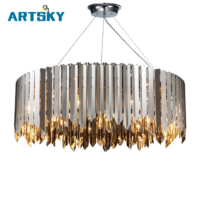 Northern Europe post modern led hanging lamp for dining room restaurant and pub art deco round hanging pendant industrial chandeliers ancient magic beans chandelier dining room sitting room art pendant lamp northern europe