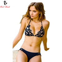 Ariel Sarah 2017 Hot Top Women Swimsuit Micro Bikinis Set Bathing Suits With Halter Strap Swimwear