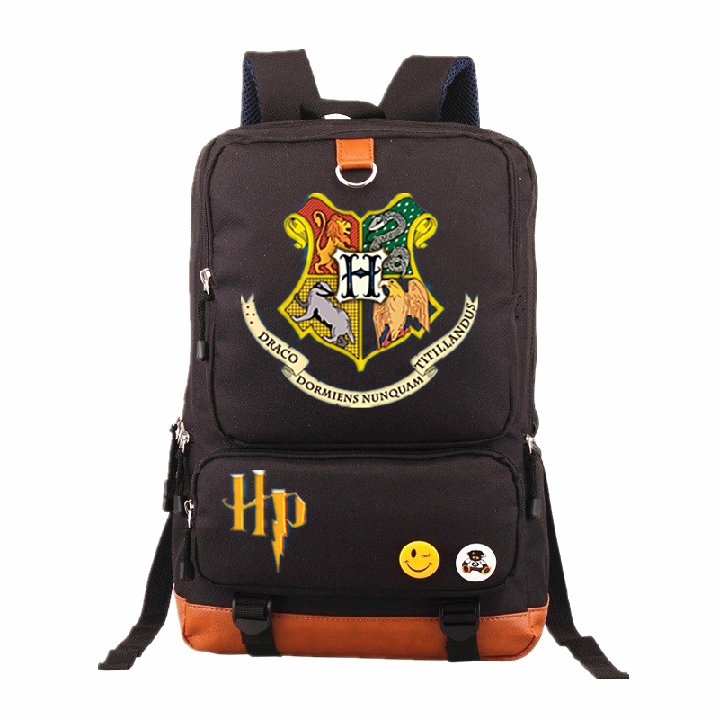 Harry Potter School Bags Backpack Children Bag Fashion Shoulder Bag Rucksack Students Travel Bag for teenagers Book Backpacks fashion women leather backpack rucksack travel school bag shoulder bags satchel girls mochila feminina school bags for teenagers