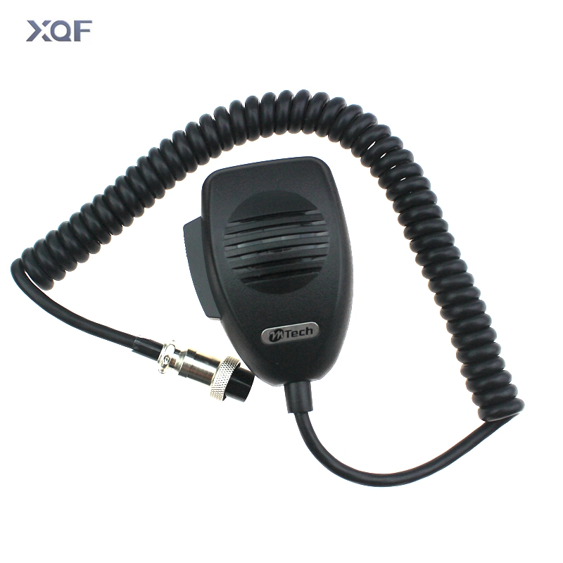CB-12 Microphone 4 Pin Connector Mobile Radio Speaker For Cobra Uniden Galaxy Car CB Radio Two Way Radios Ham Mic